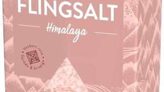 Flingsalt Himalaya - rosa flingor