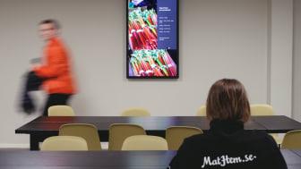 Intern kommunikation på MatHem:s lager i Bromma