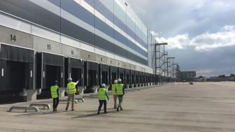 The new Primark distribution centre