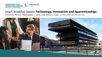 De Smart Breakfast Session vindt plaats op 9 mei 2019 in Gent.
