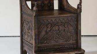 Makt og magi. Blakar-stolen fra 1200-tallet (kopi)
