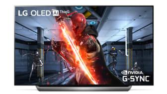 LG er først ude med understøttelse til NVIDIA G-Sync på OLED-TV
