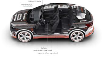 Audi Q4 e-tron pladsforhold