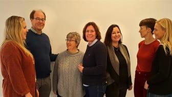 Medarbetare vid Älvpraktiken i november 2019