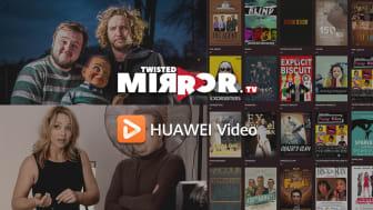 Humorn i Huawei Video ökar med DICE Twisted Mirror