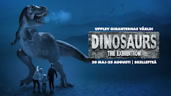 Världsutställningen Dinosaurs The Exhibition gästar Skellefteå sommaren 2019.