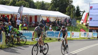 Årets cykelsportevent Cykelstafetten Spar Nord blev afholdt i Triatland Rebild
