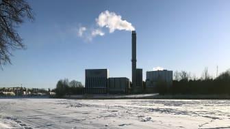 Katrineholms kraftvärmeverk. Foto: Kjell Andersson