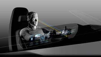 Volkswagen præsenterer på CES det Digitale Cockpit med 3D-instrumentering, Eyetracking og AR Head-up Display
