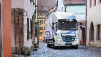 20 DAF LF elektriska lastbilar kommer att tas i drift som en del av ett omfattande projekt från Storbritanniens regeringsdepartement (DfT) för att uppmuntra användningen av batteri-elfordon i kommersiell transport.