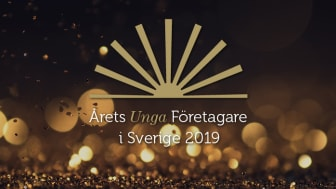 Den 11 oktober delas den nationella utmärkelsen till Årets Unga Företagare 2019 ut i Stockholms Stadshus.