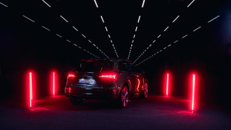 Audi Q5 with digital OLED in the Audi light channel