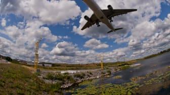 Fortsatt stark utveckling för utrikesflyget 2017