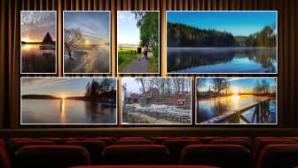 Bilderna som vann månadstävlingarna i fototävlingen Fotografera Ditt Lindesberg - nu kommer fotograferna att få sina priser!