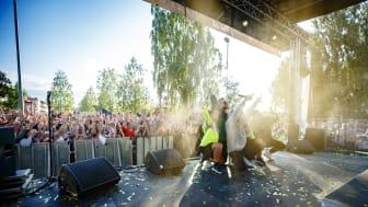 Boden Alive 2019, Samir och Viktor. Foto Mats Engfors/Fotographic