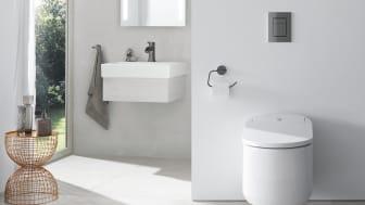 GROHE Sensia Arena giver mere komfort i hverdagen og øger hygiejnen.