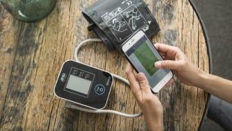 Patienter mäter värden hemifrån med ny teknik