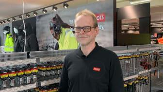 Butikksjef Erik Christensen, TOOLS Arendal