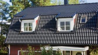 Nylagt betongtak: Jönåker Elegant, svart