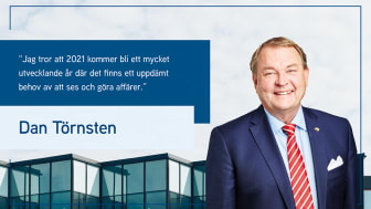 Dan Törnsten, VD på Colliers Sverige.