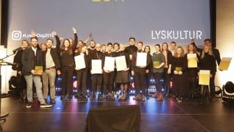 Norsk Lyspris 2019 ble i kveld delt ut foran et fullsatt DOGA i Oslo. Bak prisen står den den ideelle organisasjonen Lyskultur.