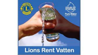 Lions Rent Vatten