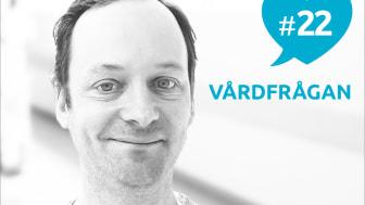 I Vårdfrågan #22 medverkar distriktsläkaren Lasse Wilhelmsson från Kvarnholmens Vårdcentral.