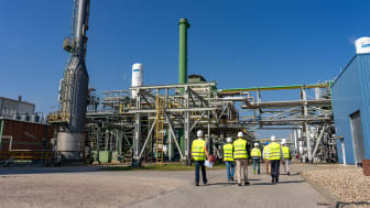 Pressereise Bitterfeld-Leuna / Wasserstoffproduktion Linde (Leuna)