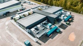 Det nye datasentret til Volkswagen Gruppen på Rjukan.