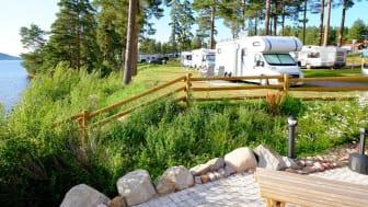 Leksand Strand ny femstjärnig campinganläggning