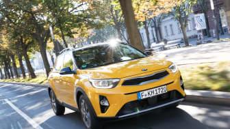 KIAs frække B-SUV model; Stonic er nu tilgængelig i Danmark fra kr. 182.753,-
