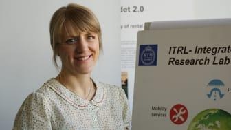 Anna Pernestål är föreståndare för ITRL, Integrated Transport Research Lab, vid KTH.