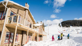 Ski-in ski-out er især vigtigt for danskerne, når de skal vælge deres skiferiedestination. Foto: Kläppen