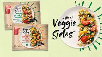 Med nyheten Veggie Sides vill Findus säkra hälften grönt på varje svensk måltidstallrik