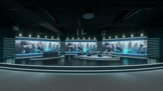 Scenen i Studio Flex är över 200 kvadratmeter stor.