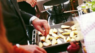 Familjen Lindell lagar mat