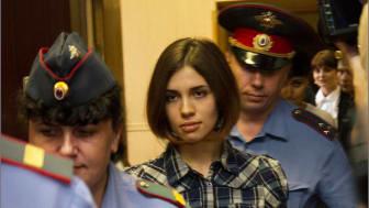 Ryssland: Pussy Riot-medlem i isoleringscell
