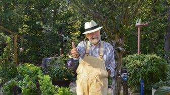 Invigning av Hasses glada trädgård. Foto: Bertil Hagberg