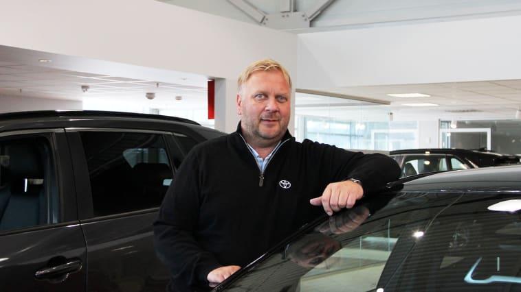 Bruktbilsjef: Tom Fossen fra Bodø blir bruktbilsjef i Nordvik AS. Foto: Nordvik AS. Høyoppløselig bilde i bunnen av artikkelen.