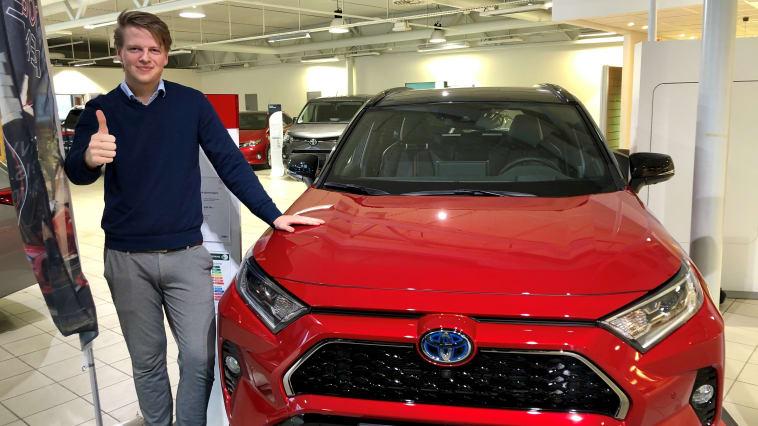 En bredde av bilmodeller sikret nok et solid år for Nordvik Toyota Namsos