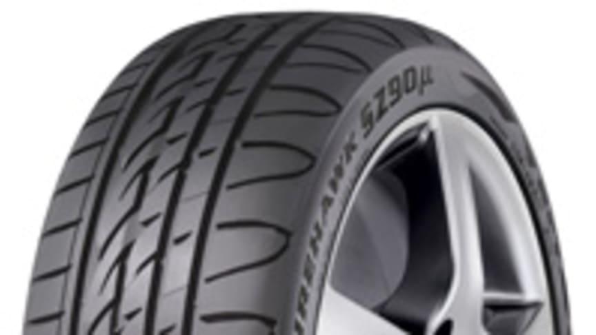 Firestone lanserar sitt första RFT-däck