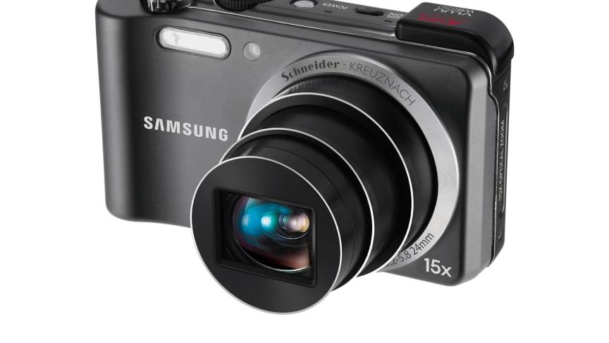 Med gps och kartor har Samsungs nya kamera mer att berätta