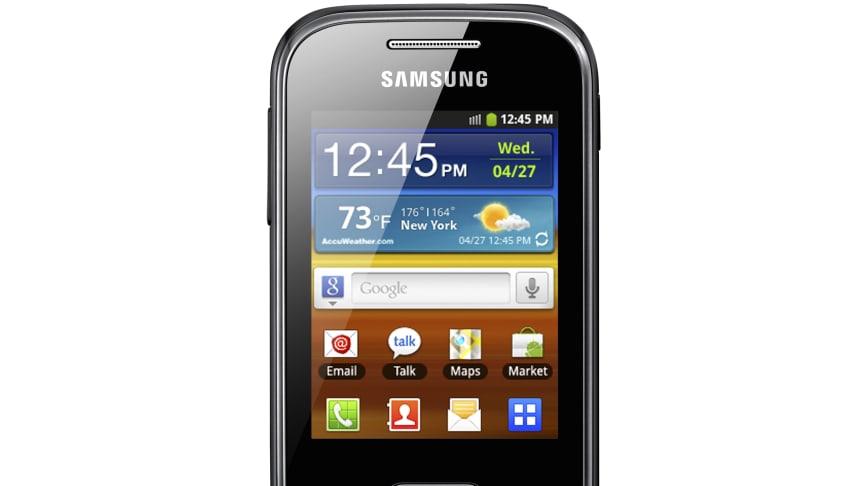 Endast 97 gram: Samsung Galaxy Pocket, en liten mobil med stort hjärta