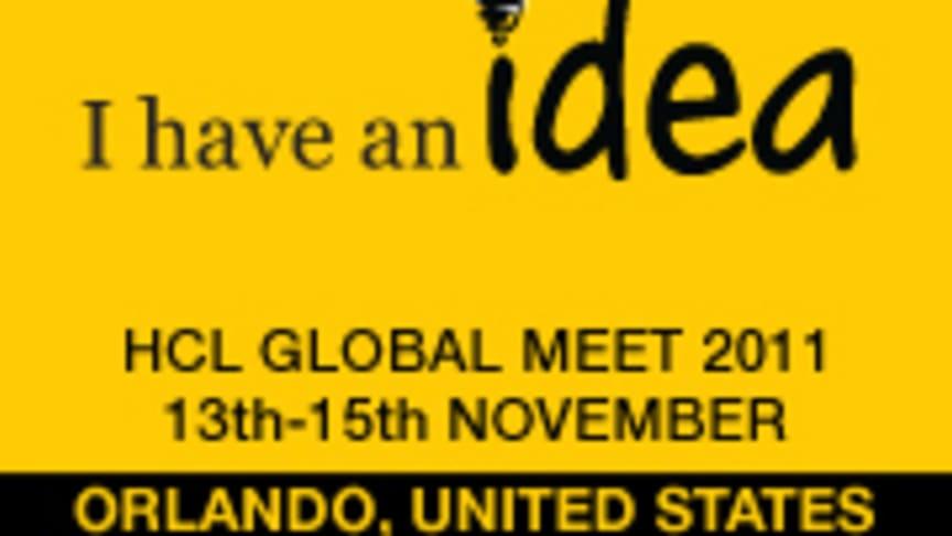 """HCL:n globaali konferenssi 2011 Orlandossa, teemana """"Minulla on idea"""""""