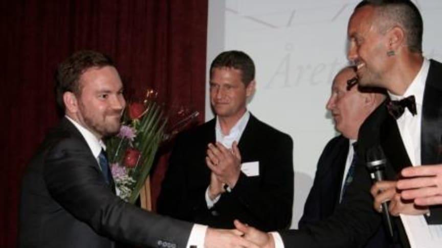 """StudentConsulting vann utmärkelsen """"Årets grundare och Årets entreprenörsföretag i Norr 2011"""""""