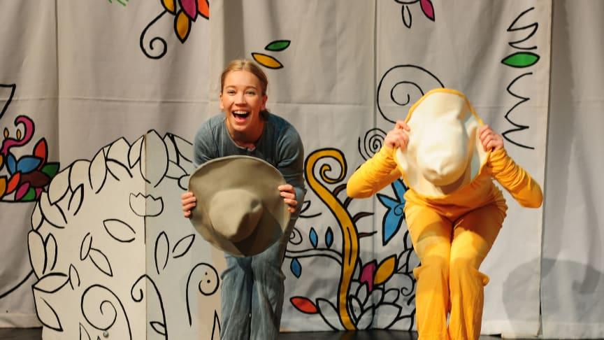 Humoristisk föreställning för barn inleder dansvåren i Lund