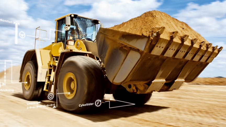 Volvos större hjullastare ger bränslebesparingar tack vare den nya OptiShift-tekniken