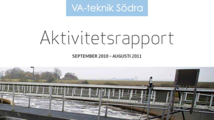 C SVU-rapport C VA-teknik Södra_2011: VA-teknik Södra - Aktivitetsrapport september 2010 - augusti 2011