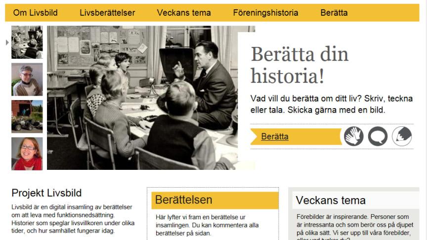 Välkommen till starten av www.livsbild.se  - kulturministern inviger