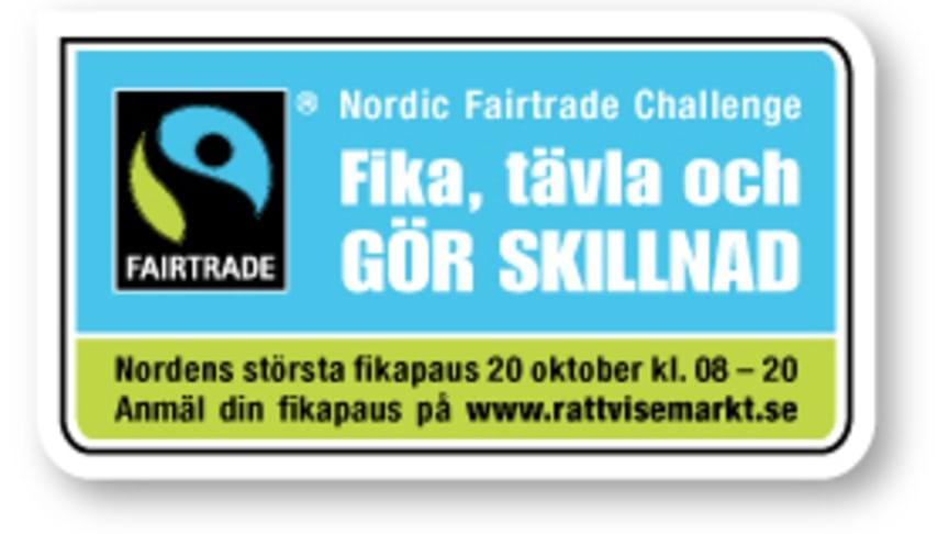 Rekordmånga fikar Rättvisemärkt - det här händer i Stockholm